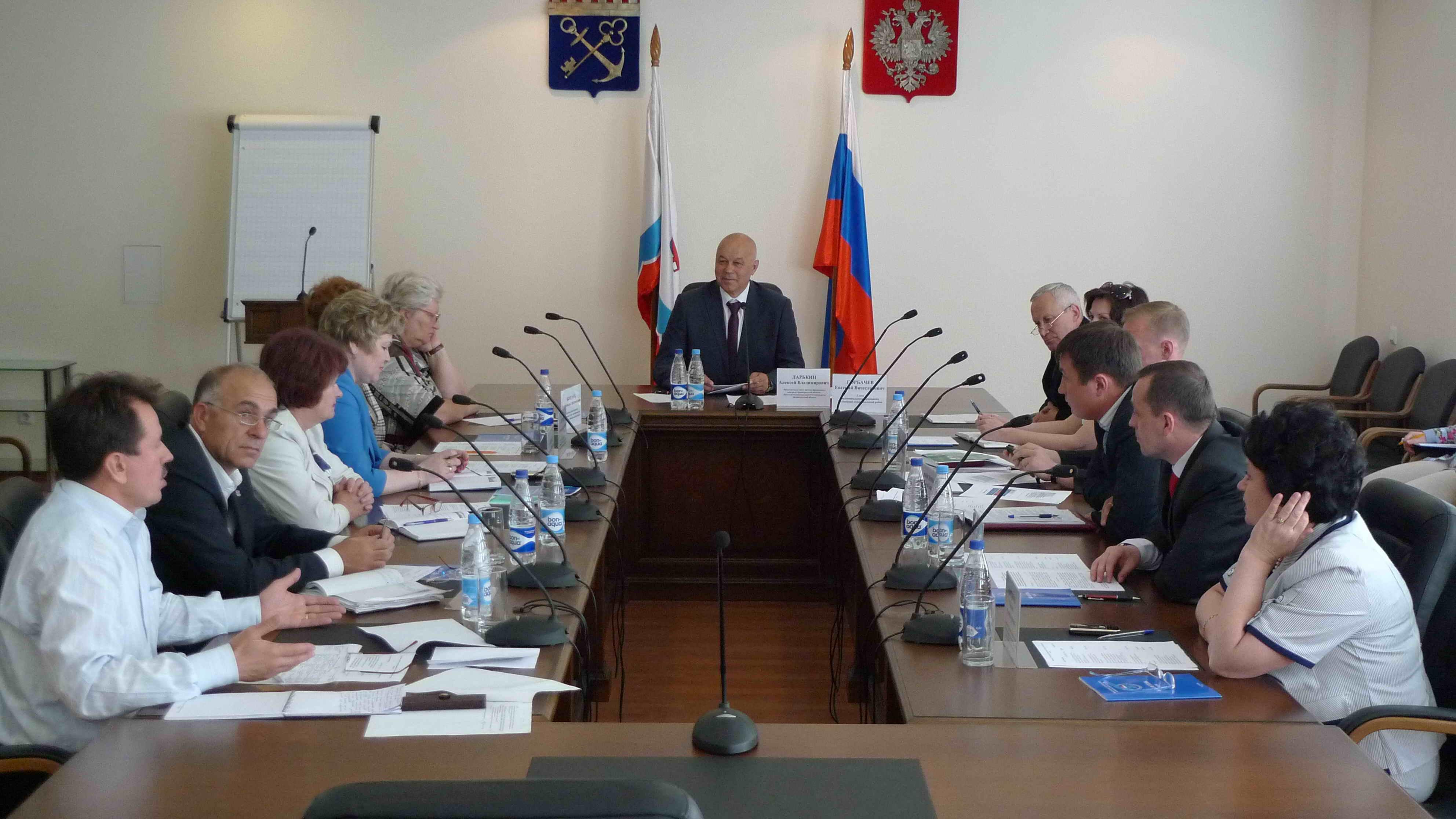 Контрольно счетная палата Ленинградской области Совет органов  Совещание совета органов финансового контроля Ленинградской области